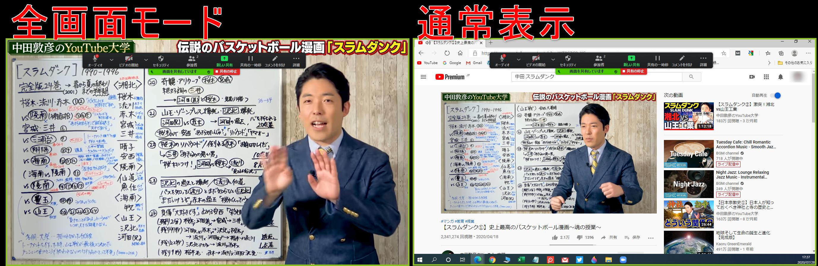 YouTube再生形式